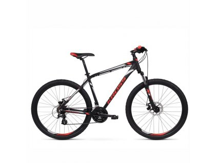 "Bicykel Kross Hexagon 3.0 26"" black-red 2021"