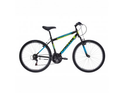 "Bicykel Kenzel AVOX SF 26"" blak/green 2021"