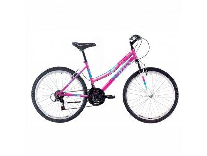 Bicykel Kenzel Prime DX80 SF W pink 2020