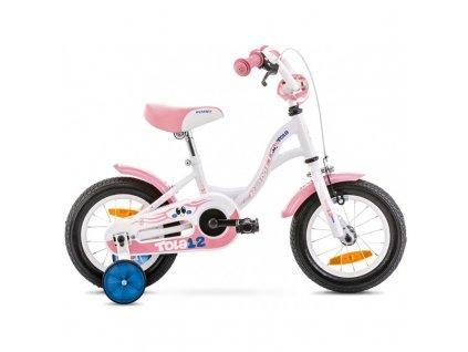 """Bicykel Romet Tola 12"""" white/pink 2020"""