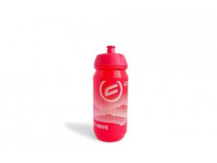 Fľaša Crussis 0,5l pink