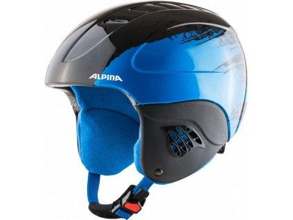 Prilba Alpina CARAT black/blue 20/21