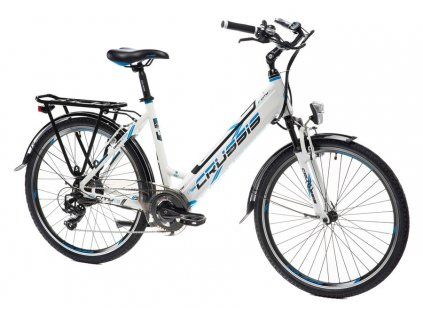 Bicykel Crussis e-City 1.13 White 2021