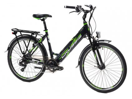 Bicykel Crussis e-City 1.14 black 2021