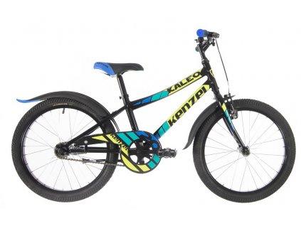 """Bicykel Kenzel KALEO 20"""" black 2021"""