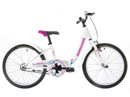 "Bicykel Kenzel Nina 20"" 1spd White 2021"