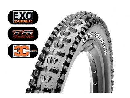 Plášť Maxxis High Roller 27.5x2.30 EXO TR 3C Mscc Terra kevlar
