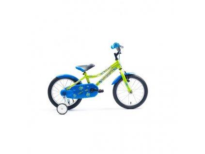 """Bicykel Harry CYBRO 16"""" limet 2019"""