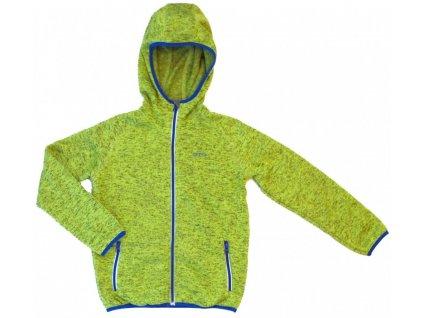 Detská bunda s kapucnou -GTS green