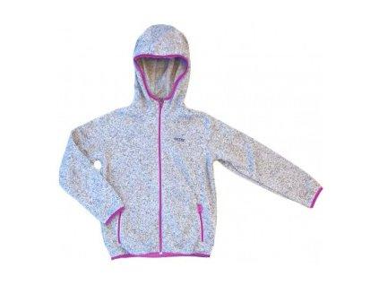 Detská bunda s kapucnou -GTS grey
