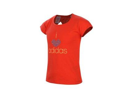 Tričko adidas S16411 YG W SM TEE