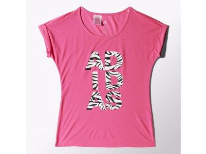 Tričko adidas S16422 YG W B LING TEE