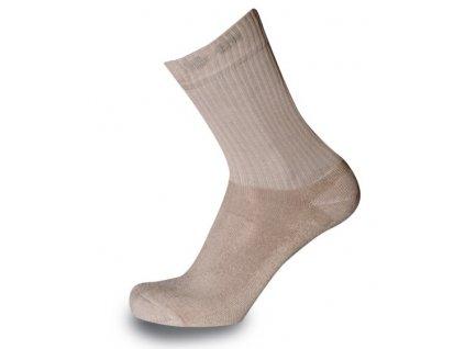 Ponožky Sherpa HABA bežova