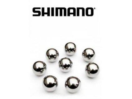 Guličky Shimano do zadného náboja 18ks