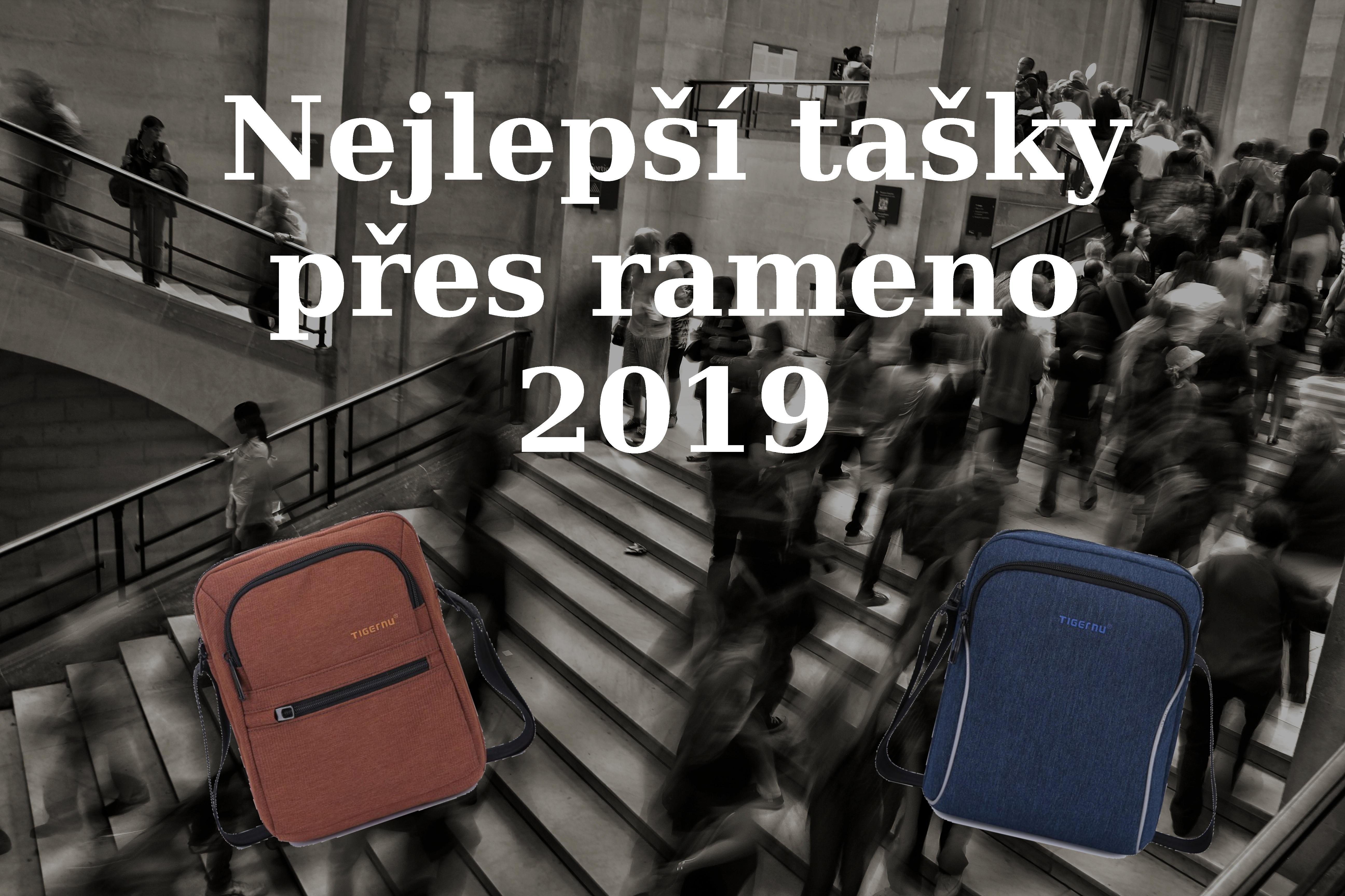 Nejlepší tašky přes rameno 2019