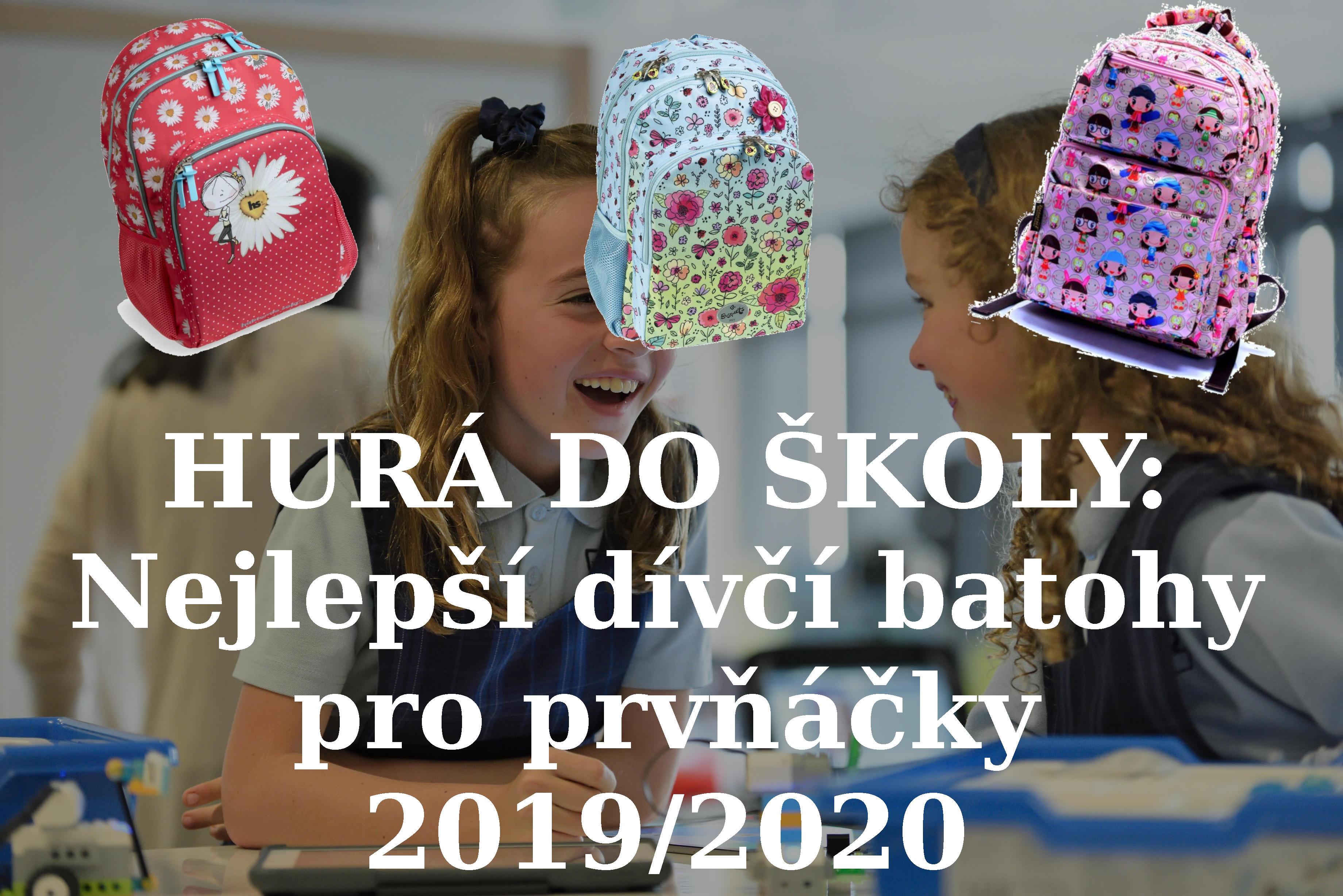 HURÁ DO ŠKOLY: Nejlepší dívčí batohy pro prvňáčky 2019