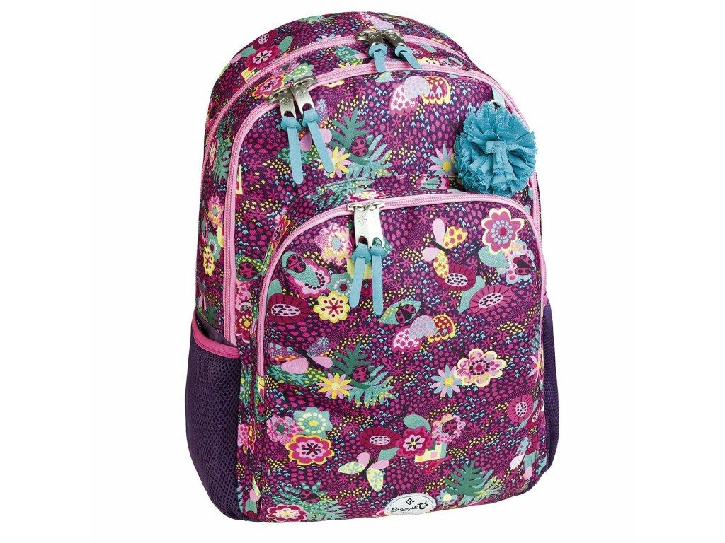 Dívčí školní batoh Busquets Garden
