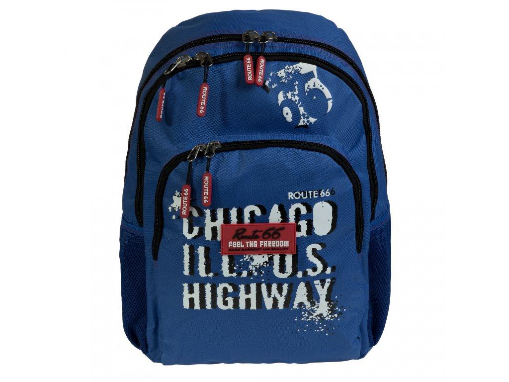 Chlapecký školní batoh Busquets Blue Route 66
