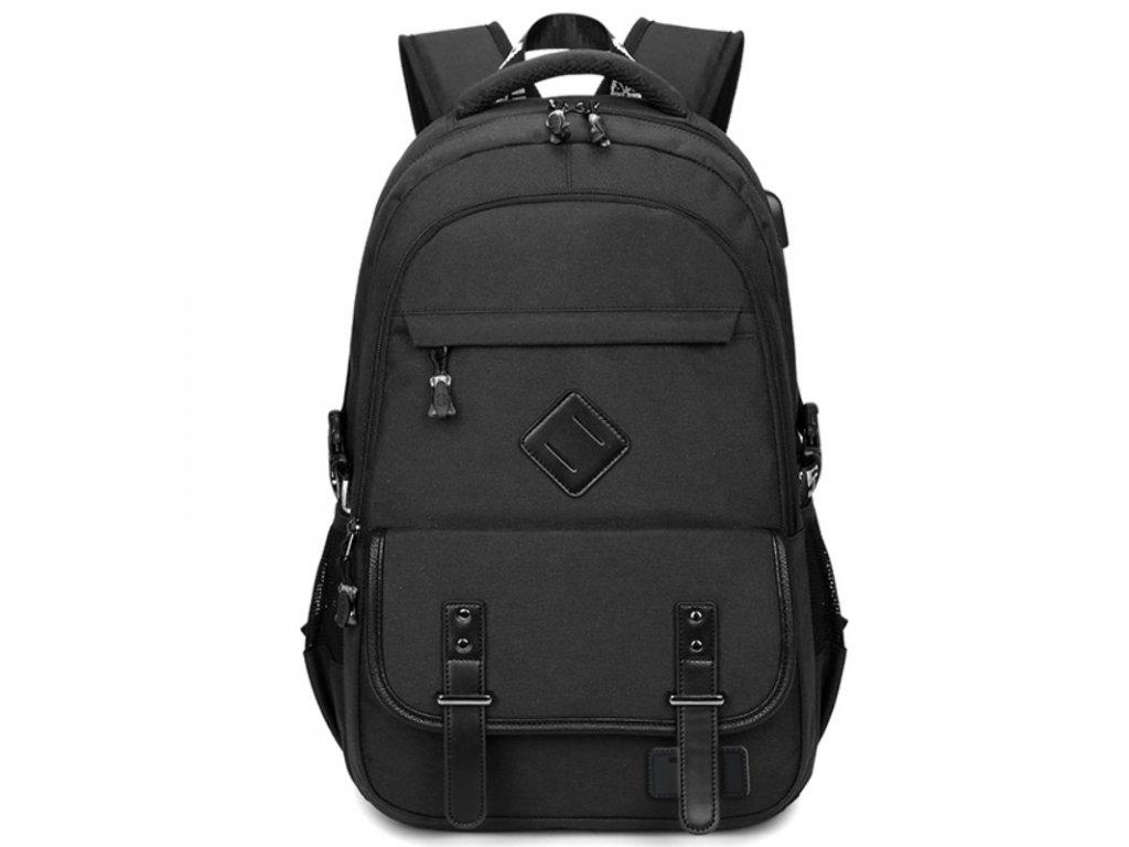 Pánský studentský batoh School TopBags - černý 21 l