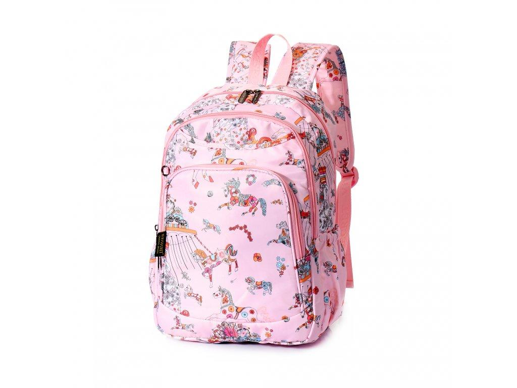 Dívčí školní batoh TopBags ViVi  - Rose 13 l