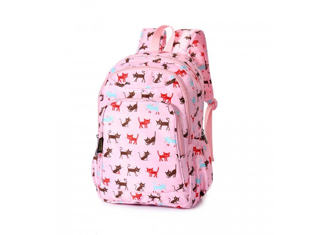 Dívčí školní batoh TopBags ViVi - Světle růžová II 14 l