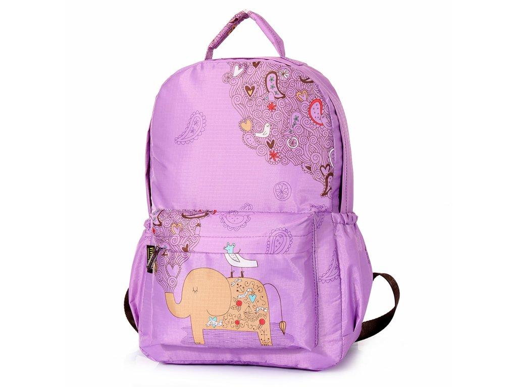 Dívčí školní batoh  TopBags ViVi-Ele  - Purpurová 15 l