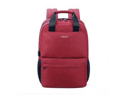 Dámský studentský batoh Tigernu 3508 Red 20l