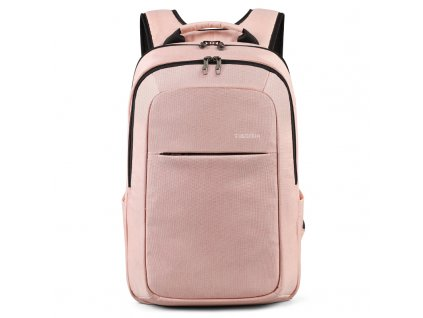 Dámský studentský batoh Tigernu 3090B Růžový 22,5 l