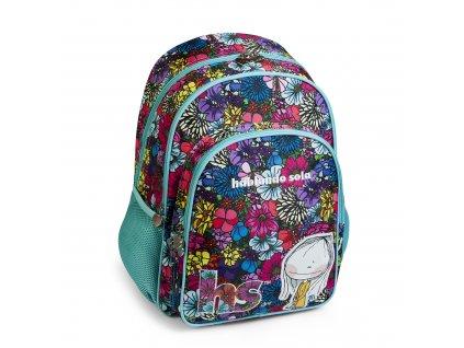 Dívčí školní batoh Busquets Bouquet Hablando Sola