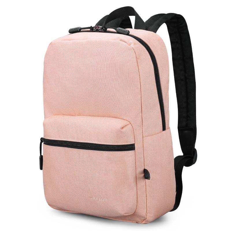 Dámský městský batoh Tigernu 3825 Pink 14 l