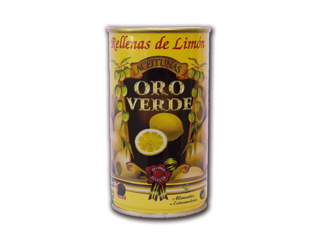 554 olivy plnene citronem