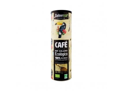 cafe en grano colombia bio cilindro 250 g
