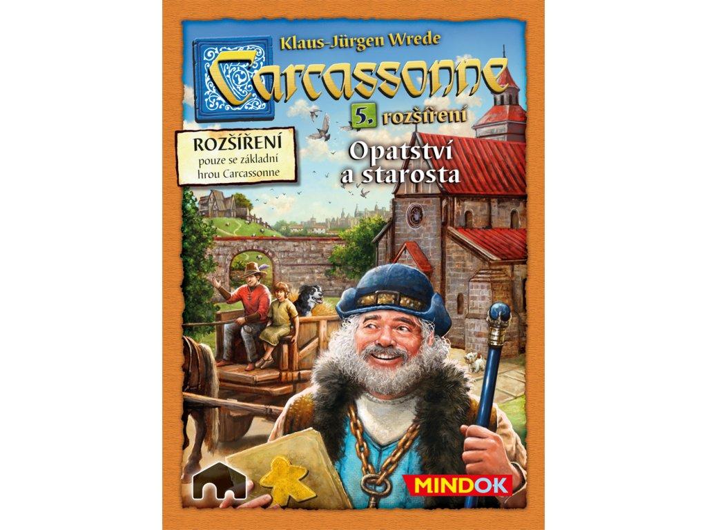 Carcassonne rozšíření 5 Opatství a starosta