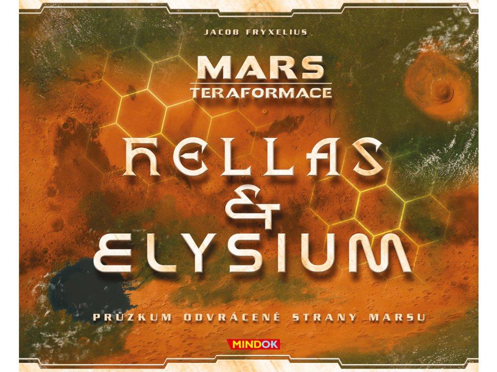 Mars: Rozšíření Hellas a Elysium