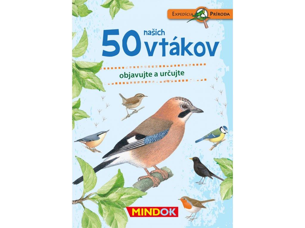 SK Expedice příroda: 50 našich vtákov