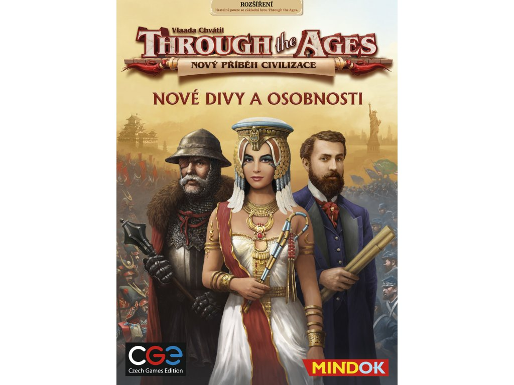 Through the Ages: Rozšíření