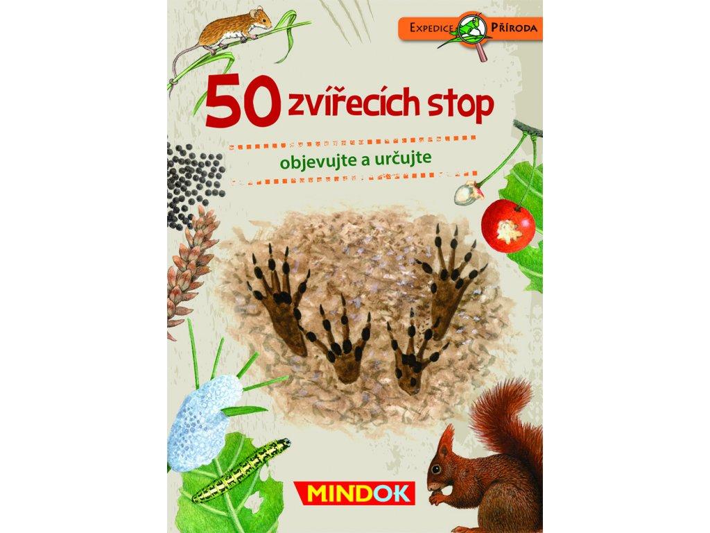 Expedice příroda: 50 zvířecích stop