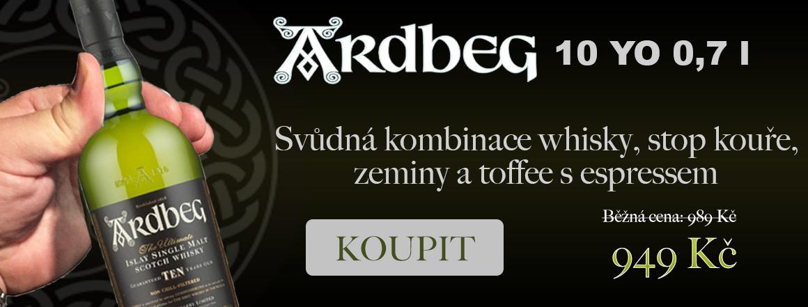 Whisky Ardbeg 10yo 0,7 l