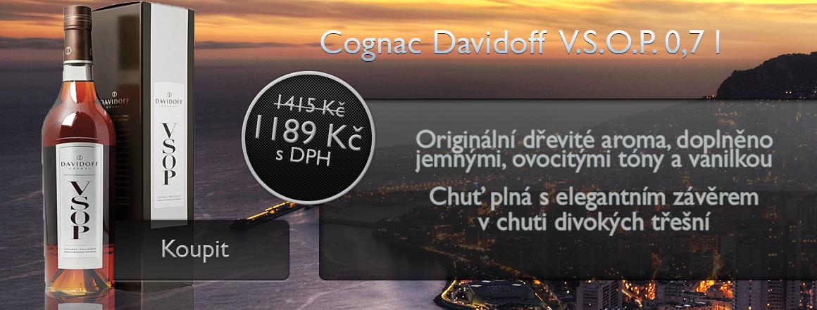 Cognac Davidoff V.S.O.P. 0,7 l