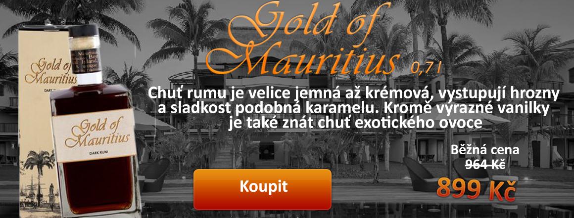 Gold of Mauritius 0,7 l
