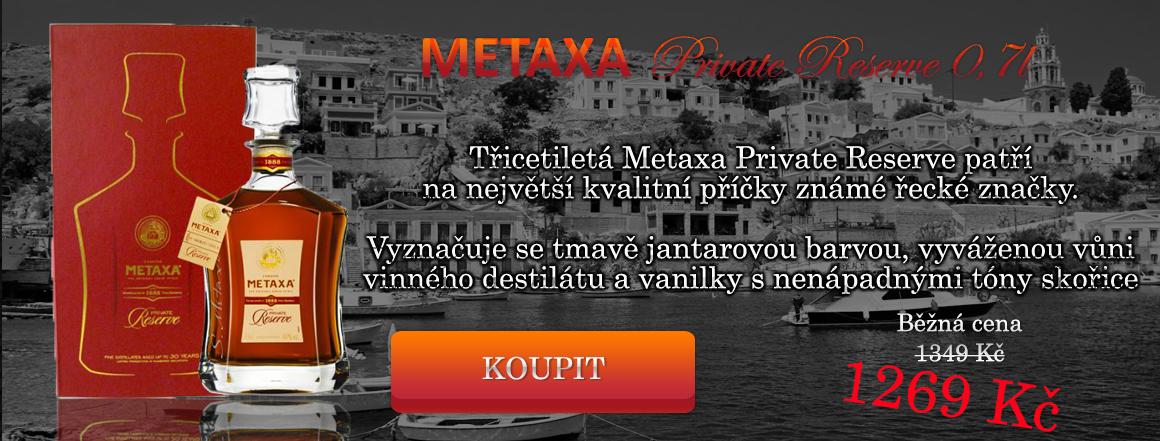 Metaxa Private Reserve 0,7 l