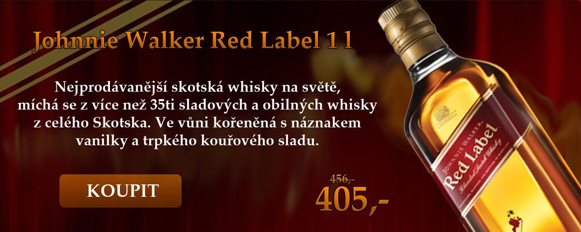 Johnnie Walker Red Label 1 l