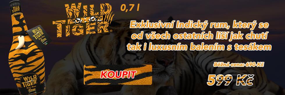 Wild Tiger rum 0,7 l