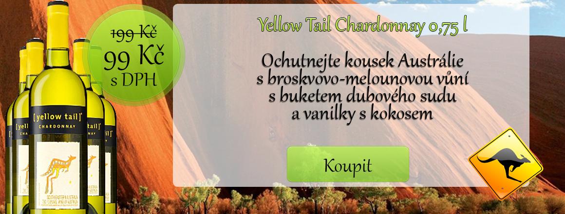 Yellow Tail Chardonnay 0,75 l