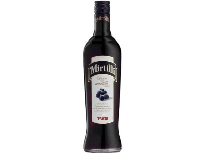 Liqueur Toschi Mirtilli borůvky 24% 0,5 l