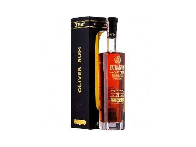 Rum Cubaney Exquisito 21 yo 38% 0,7 l