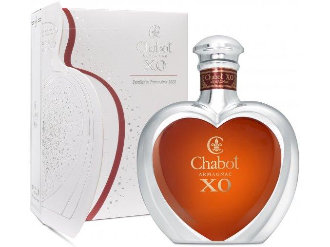 Armagnac XO Coeur 0,5 l Chabot dárkové balení