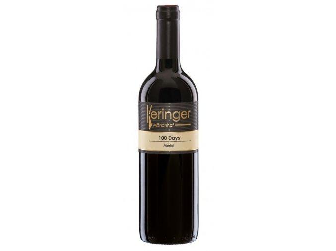 Vinařství Keringer 100 Days Merlot 2013 0,75l