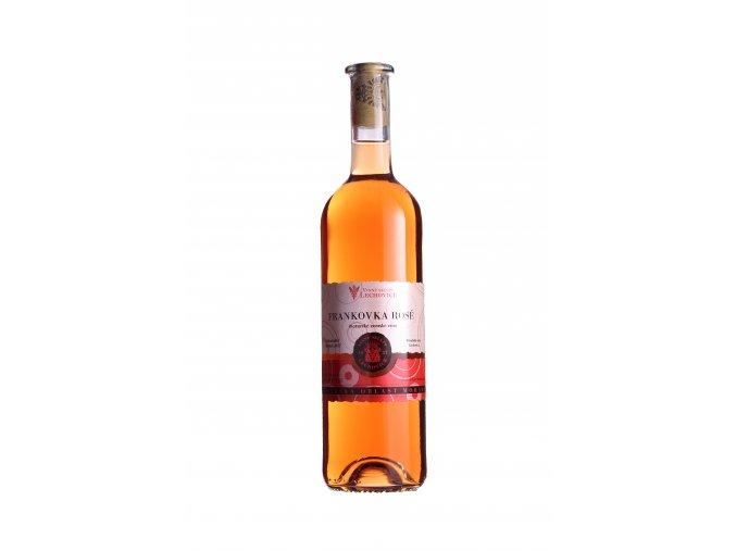 Frankovka rose 0,75 moravske zemske vino Tesco