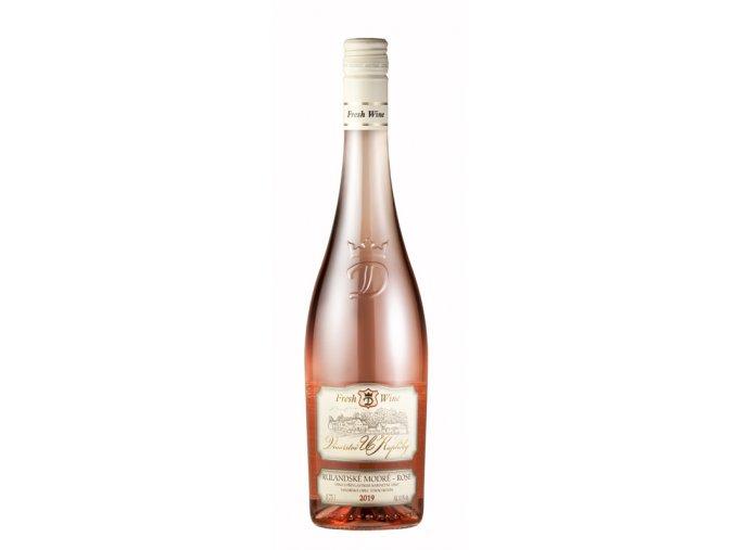 47135 rulandske modre rose 2019 kabinet sladke 0 75l fresh wine vinarstvi u kaplicky